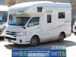 トヨタ ハイエース ファンルーチェ セレンゲティ リチウムイオン 家庭用エアコン エアサス
