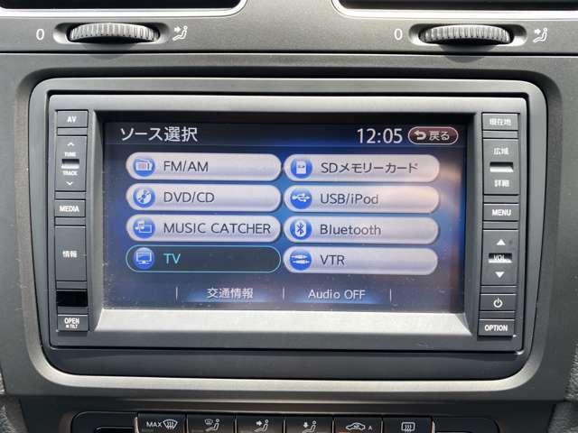 ナビ/バックカメラ/フルセグTV/CD/DVD/Bluetooth