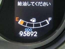 走行距離はおよそ96,000kmです。