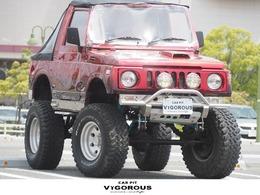 スズキ ジムニー 660 フルメタルドア CC 4WD ボディリフト リフトUP 15AW 社外グリル