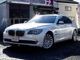 BMW 7シリーズ 750i 本革シート サンルーフ Bカメラ 禁煙