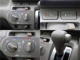 ■マニュアル式エアコン■ダイヤル式で温度を調節できる為、快適な車内を過ごすことができます☆