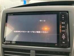 【SDナビ】パナソニック製です☆音楽の再生・録音はもちろんテレビの視聴もOK!!