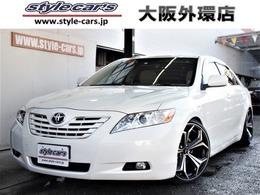 トヨタ カムリ 2.4 G 新品車高調新品19インチ ナビ地デジ