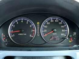 【メーター】現在の走行距離63,787kmでございます。