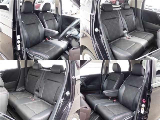 ■内装■車内は黒を基調としていますので落ち着いた雰囲気を味わうことができます。