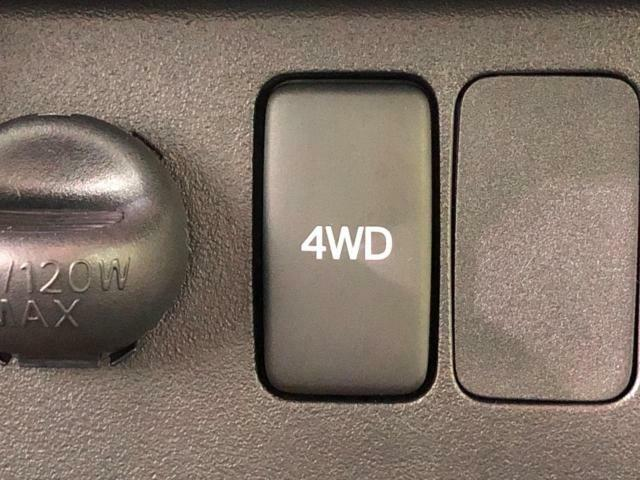 パートタイム4WDなので2WDと4WDの切り替えが可能です☆路面状況に応じて使い分けてください!!