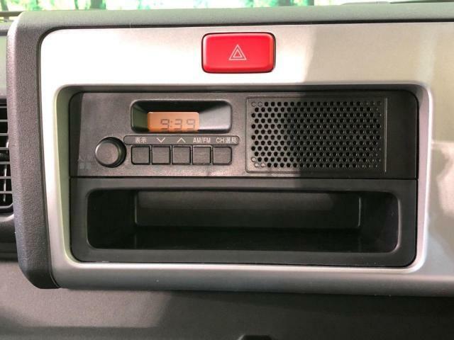 FM/AMラジオ付き
