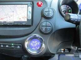 車内の空調はコレにお任せ!温度設定とスイッチ1つで年中設定温度に保つ便利なオートACも装備!車内をクリーンに保つプラズマクラスター機能も搭載しています!