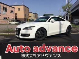 アウディ TT クーペ 3.2 クワトロ 4WD BBSタイヤ新 黒革 Pシート ナビ Rカメラ