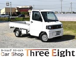 三菱 ミニキャブトラック 660 Vタイプ エアコン付 AT車 エアコン パワステ 4WD