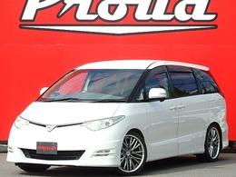 トヨタ エスティマ 2.4 アエラス Gエディション 車高調/外19AW/両側電動/後席M/ナビ/TV