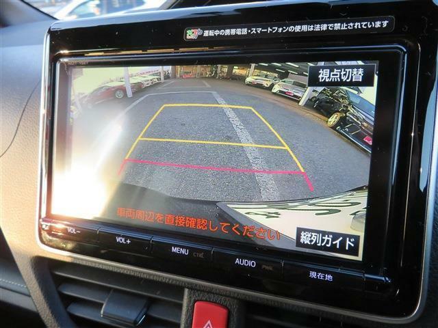 便利なカラーバックモニター付で後方確認も安心です♪バックが苦手な方でもらくらく駐車出来ます!