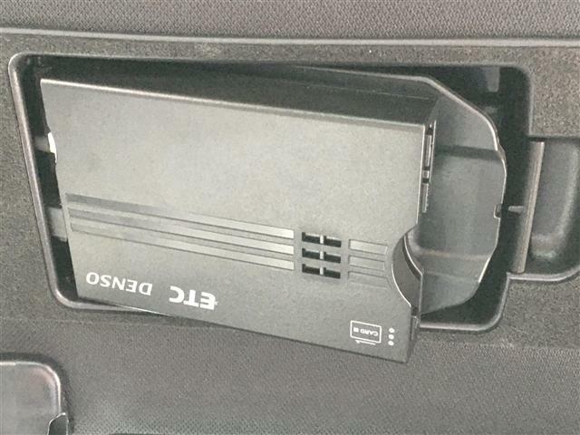 【ビルトインETC装着車両】 防犯対策バッチリ!! 高速走行もスムーズにお支払いが可能な装備。セットアップも当社で可能です。