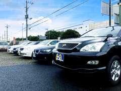 SUV、ミニバン、セダンと幅広い車種をご案内可能です!お探しのお車があればオークションや下取予定のお車からもご案内可能です