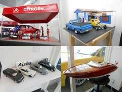 在庫車と同じように、店内のおもちゃたちも日々入れ替わります。