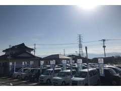 軽自動車からミニバンまで多数揃えております。富士山も見える!