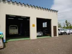 自社陸運局認証工場完備、納車前には、キッチリ整備いたします。