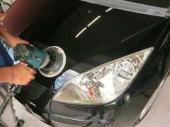 当店は全車両磨き仕上げ後のお渡し!中古車とは思えない輝きを取り戻しますよ☆
