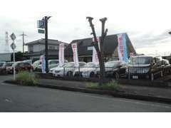 国産中古車~輸入車まで幅広く取り扱いをいたしております。