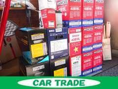 当店のお車は、安心してお乗り頂けるよう納車時にバッテリーを新品に交換しております。