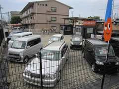 駐車スペースも有ります。お気軽にお越し下さい。