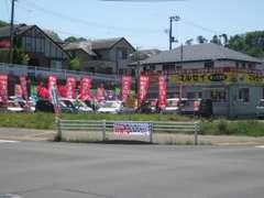 イオン中山から実沢方面へ、ミニストップを左折、1本目の信号の角。当店は指定工場でしっかりとした点検整備を行っております。