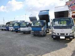 各種トラック・重機即現金買取いたします。