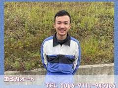 ヴー・ズイ・カインと申します!ベトナムから来ました!まだまだわからないことがありますが、一生懸命頑張ります!