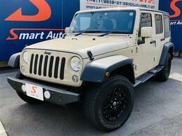 ジープ ラングラー アンリミテッド モハベ エディション 4WD ワンオーナー 100台限定車 ディーラー整備