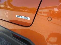 ECOな走りを賢くアシストしてくれる、HYBRIDシステム