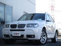 BMW X3 3.0i Mスポーツパッケージ 4WD 黒革サンルーフ純正HDDナビBカメラ