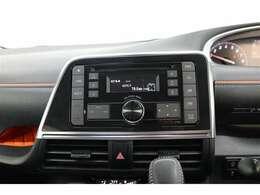 ■CDオーディオ■ラジオを聴くこともできます!当たり前の装備かもしれませんが、なくては困るドライブの必需品ですね!