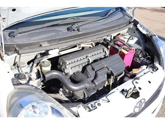 エンジンも快調です!耐久性能の高いタイミングチェーンエンジン!