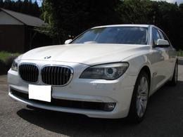 BMW 7シリーズ 760Li スマートキー 本革シート 定期点検記録簿