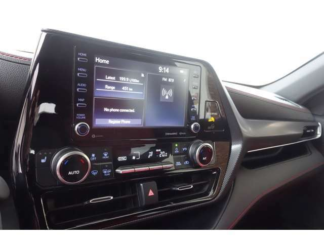 CarPlay対応モニター