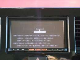 純正ナビ付き!DVD再生可能Bluetooth対応