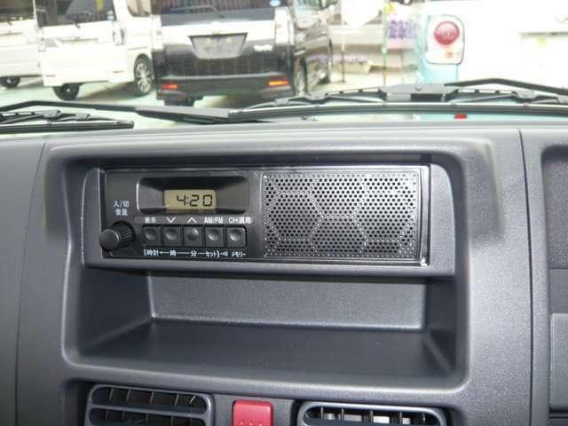 AMFMラジオ付!
