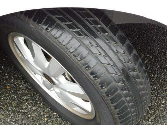 タイヤの画像です。タイヤ溝も安心。まだまだお使いいただけます。