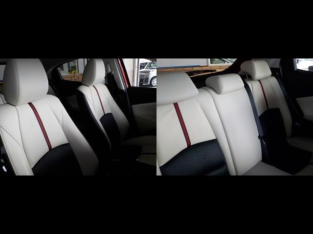 運転席&助手席と後部座席のシートの様子をご確認ください!