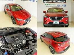 新型1.8ディーゼルTB、ガソリン車だと2.5L~3.0L相当のトルクで コンパクトな車体を走らせます、エコと走りを両立です、内装も上質で スタイルもオシャレ 後期型 四駆のCX-3 いかがですか