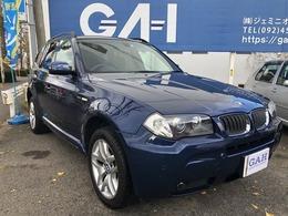 BMW X3 2.5i Mスポーツパッケージ 4WD パノラマサンルーフ フルセグTV 1DINナビ