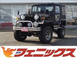 三菱 ジープ 2.7 ディーゼルターボ 4WD 4速MT レザーシート RANCHO足廻