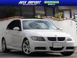 BMW 3シリーズ 323i Mスポーツパッケージ ガラスSR 社外ナビBカメ 16AW 本土仕入