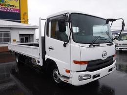UDトラックス コンドル 4トン ワイドロング 平ボディ 荷台内寸 長さ6210 幅2370