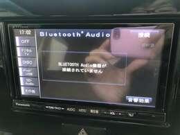 Bluetooth機能もございますので携帯電話と接続していただければお気に入りの音楽を視聴することも可能となっております♪ドライブが楽しくなりますのであると嬉しい機能となっております♪