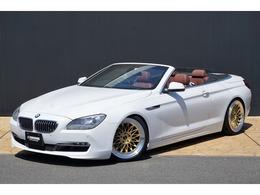 BMW 6シリーズカブリオレ 640i LEXEL20AW 車高調 ス-パ-スプリントマフラ-