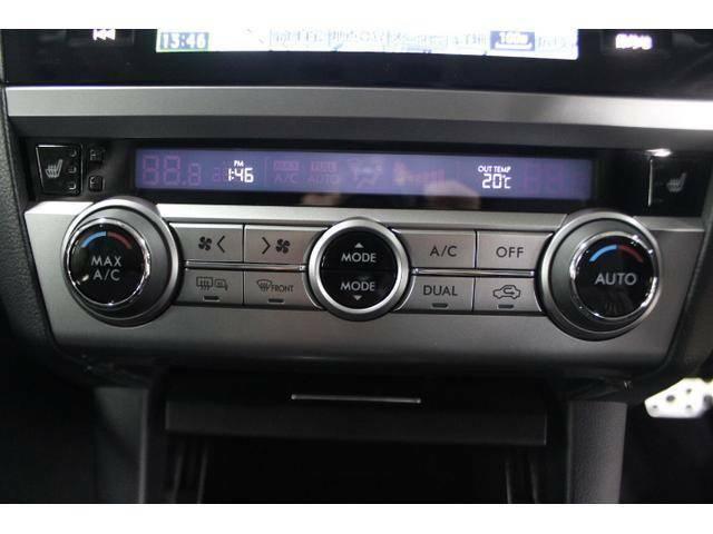 乗る人それぞれの体調や温感の違いに合わせて、運転席・助手席で別々の温度調整が可能です。