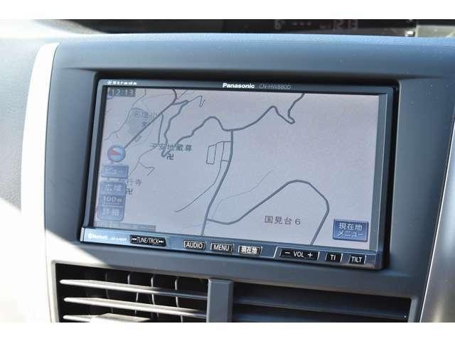 ストラーダHDDナビ♪CD・DVD・地デジTV・Mサーバー。Bluetooth