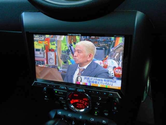 HDDナビ・フルセグTV